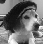 cj in hat