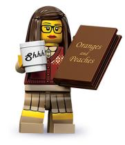 lego librarian