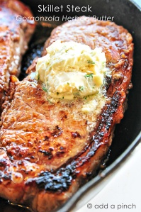 Skillet-Steak-with-Gorgonzola-Herbed-Butter-Add-a-Pinch