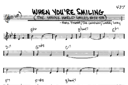 when you're smiling