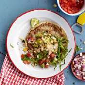 roasted corn tostadas